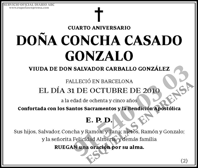Concha Casado Gonzalo